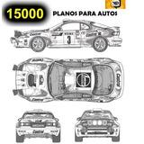 15000 Planos Autos Rotulados Plotter Carros Tunning Ploteo