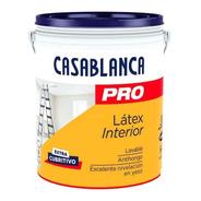 Latex Casablanca Pro Interior X 20 Lts Pintumm