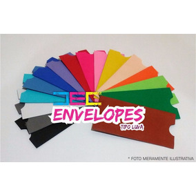 Envelopes Para Convite Tipo Luva 7,5 X 15 Cm - 10 Unidades