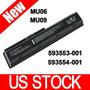 Portátil De Repuesto Batería Para Hp/compaq 593553-001