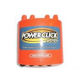 Power Click Amplificador De Fone Ouvido Db 05 Color Laranja
