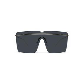 Lente De Sol Al Aire Color Negro, Glasses G3, Pop8137