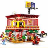 Lego Sembo Block Lanchonete Do Mc Donalds - 1729pcs !!!