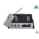 Amplificador 4 Canales 1500w Bluetooth Usb Sd Fm Mp3 010-150