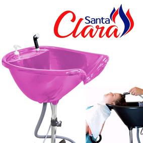 Lavatório Portátil Cabeleireiro Caseiro Pink Santa Clara