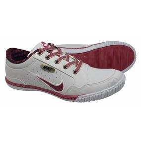 Promoção Sapatenis Nike Casual Couro Sintetico Varias Cores