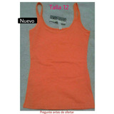 Camiseta. Franela Blusa Niña Adolescente Talla 12 Nueva