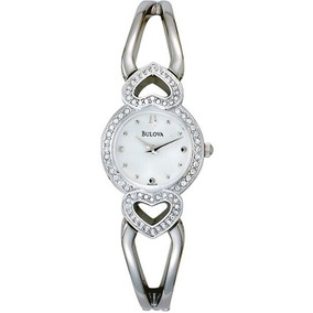 Reloj Bulova 96x006 Mujer Distribuidor Oficial Envió.