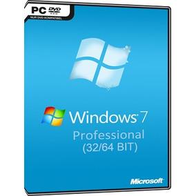 Windows 7 Professional Pro 32 / 64 Bits - Chave Original