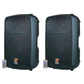 Caixa Ativa Staner 15 Polegadas Bluetooth Usb 2 Uni Sr315a