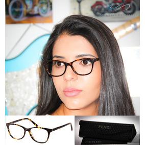 Armacao De Ovulos De Grau Feminino Acetato Fendi - Óculos no Mercado ... 4533bfeb05
