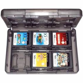 Estojo Capa Nintendo 2ds 3ds Porta Fita Cartucho Case Jogo