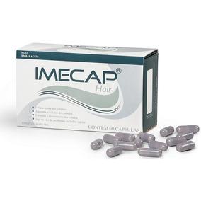 1 Imecap Hair Com 60 Cápsulas + 1 Óleo De Coco Copra 500ml