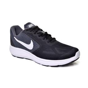 Tênis Feminino Revolution 3 Nike 819303-001 - Preto/branco
