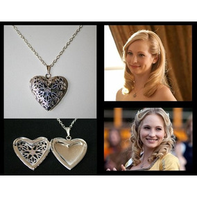 Vampire Diaries Caroline Forbes Collar Relicario