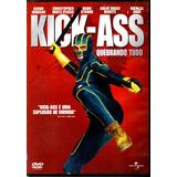 Dvd Kick Ass Aaron Taytor /original / Perfeito Estado