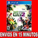 Plants Vs Zombies Ps4 Garden Warfare 2 Español 50% Off |2|