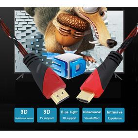 Cabo Hdmi 2 Metros 1.4 Full Hd 1080p Lcd Ps3 Xbox Tv 3d Hdmi
