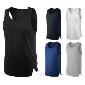 Pack X4 Musculosa Slim Fit Entallada 100% Algodon Verano !!