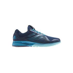 Tenis adidas Aerobounce J98413 Azul Marino Caballero