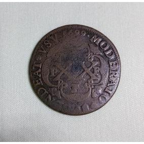 Moeda Xx Réis 1699 Pppp