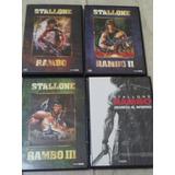 Rambo - 4 Peliculas En Dvd De Avh