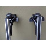 Racks En Aluminio, Universales, C/ Llave Especial De Bloqueo