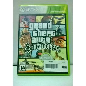 Gta. San Andreas Para Xbox 360- Gamers Code León