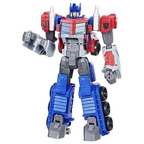 Transformers Boneco Generations Figura Cyber 28cm - Optimus