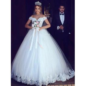 Lindo Vestido De Noiva Princesa Pronta Entrega Novo