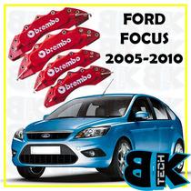 Capa Pinça Freio Tipo Brembo Kit 4pcs Ford Focus 10 A 15