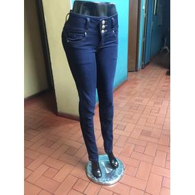 Jeans Para Dama Clasicos, Pretina Alta, Levanta Cola,t(6-16)