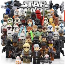Star Wars Bonecos Compatíveis Lego, Luke, Kylo Ren, Bb8,..