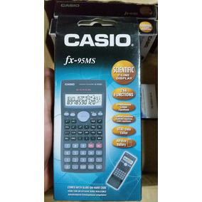 Calculadora Científica Casio Fx95ms, 100% Original