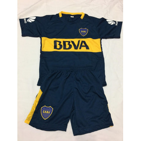 Nuevo 2017 Conjunto Boca Juniors Camiseta Short Niños