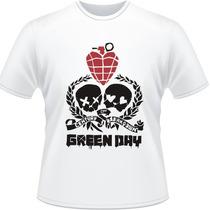 Camisa Green Day American Idiot Punk Rock Camiseta Breakdown