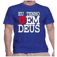 Camisa Camiseta Religiosas Fé Católica E Evangélica