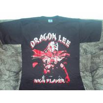 Playera Luchador Dragon Lee Talla L Lucha Libre