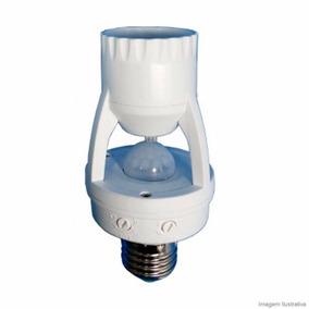 Sensor Presença P/ Lâmpada + Fotocelula Iluminação Com Timer