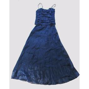 Vestido De Festa Tamanho 38 Azul