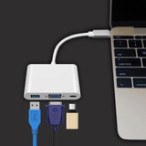 Adaptador Vga A Usb Tipo C Hub - Macbook - Hp