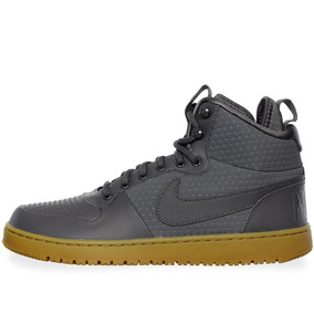Tenis Nike Court Borough Mid - Aa0547001 - Gris Obscuro - Ho