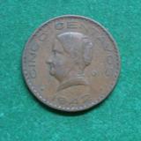1942 5 Centavos Josefita Fecha Escasa