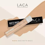 Base Maquillaje Perfeccionadora Matte Magic Laca Liquidacion