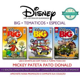 Disney Big Especial Tematicos Mickey Donald Pateta Gibi