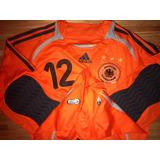 Sel Alemania- Camiseta De Juego 2006- Copa Mundo- Climacool