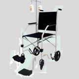 Cadeira De Rodas Economica Suporte Soro Cds