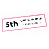 Banda Concierto Exo We Are One Kpop Coreano Banner
