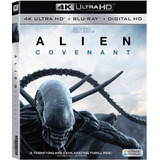 Blu Ray 4k Ultra Hd Alien Covenant Dvd Estreno Dc Scott