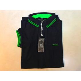 Camisetas Gola Polo Masculino Colcci Manga Curto